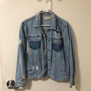 Pacsun Distressed Denim Jacket
